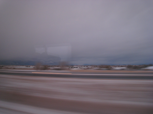 Denver, at speed